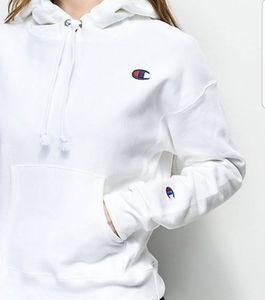 Champion Reverse Weave hoodie white medium